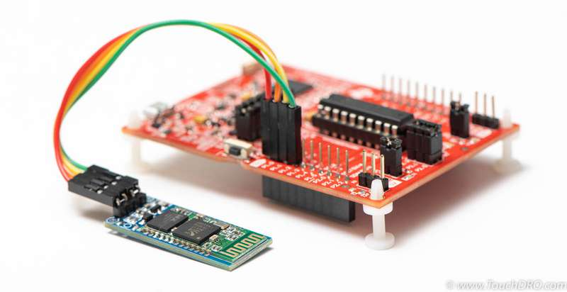 MSP430 TouchDRO Adapter Base Controller Circuit